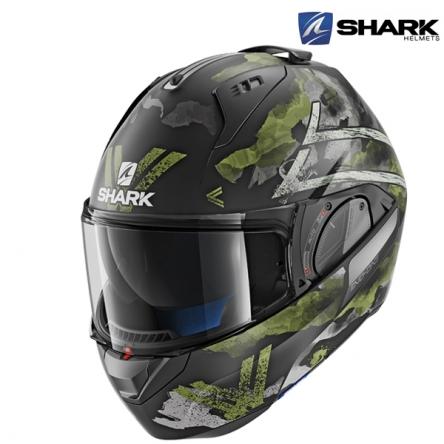 Helma SHARK EVO-ONE 2 SKULD MAT KGA