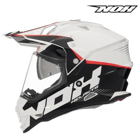 Helma NOX N312 CROW bílá