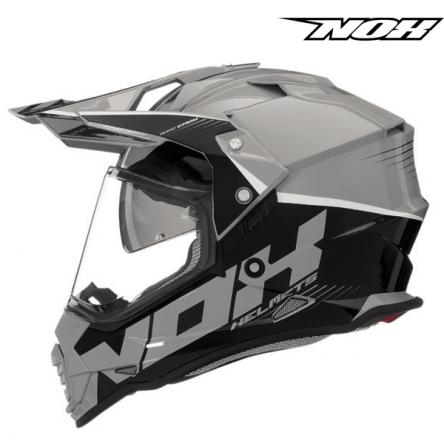 Helma NOX N312 CROW šedá