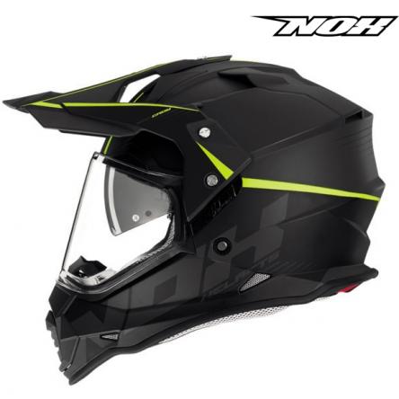 Helma NOX N312 CROW žlutá