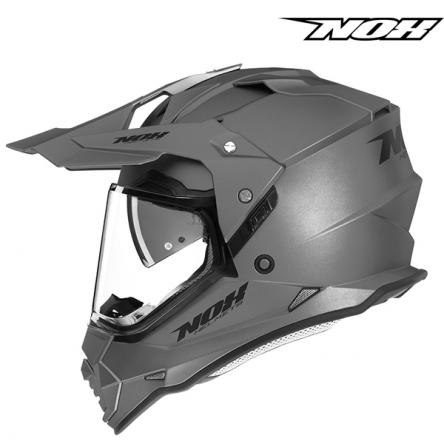 Helma NOX N312 stříbrná matná