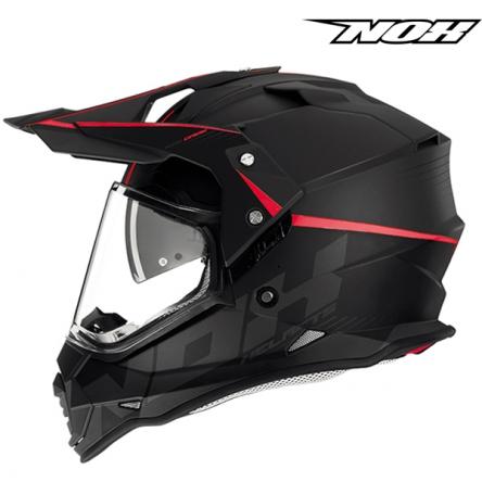 Helma NOX N312 CROW červená
