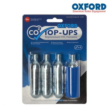 náhradní CO2 bombičky OXFORD (sada 4ks)