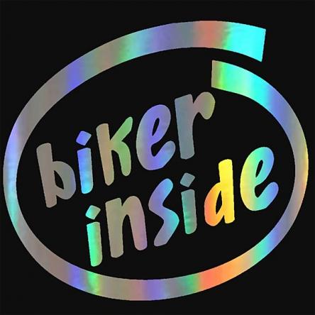 Nálepka Biker Inside