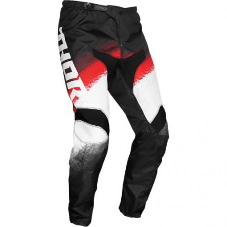 Kalhoty THOR SECTOR VAPOR RED/BLACK