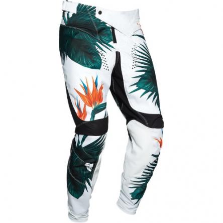 Kalhoty THOR PULSE TROPIX BLACK/WHITE
