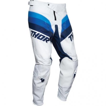 Kalhoty THOR PULSE RACER WHITE/NAVY