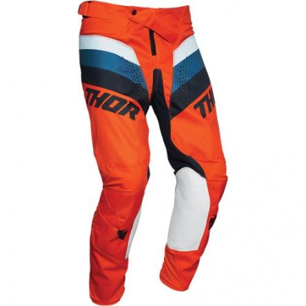 Kalhoty THOR PULSE RACER ORANGE/MIDNIGHT