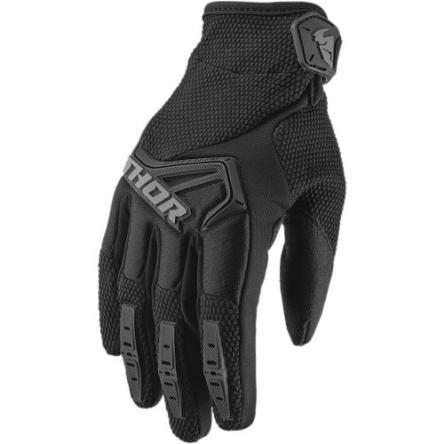 MX rukavice dětské - THOR SPECTRUM S9Y BLACK
