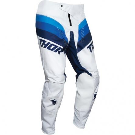 dětské kalhoty THOR YOUTH PULSE RACER WHITE/NAVY