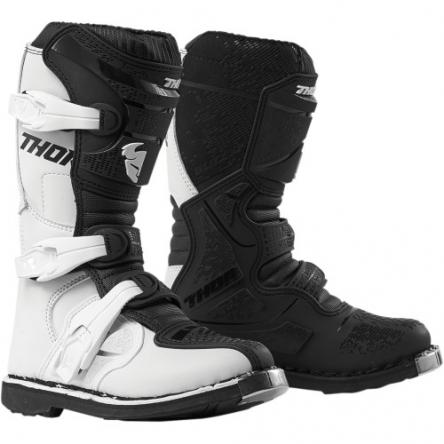 Dětské boty THOR YOUTH BLITZ XP WHITE/BLACK