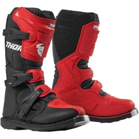 Dětské boty THOR YOUTH BLITZ XP RED/BLACK