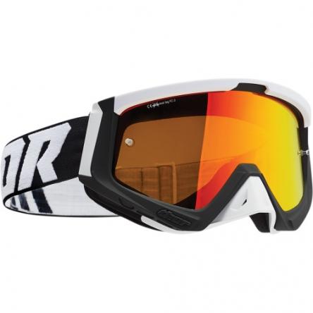 Brýle THOR SNIPER BLACK/WHITE