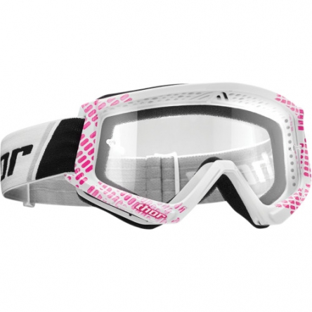 Brýle THOR COMBAT CAP PINK/WHITE