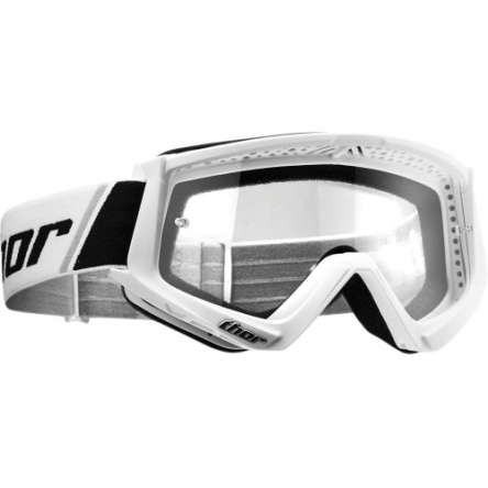 Brýle THOR COMBAT WHITE/BLACK