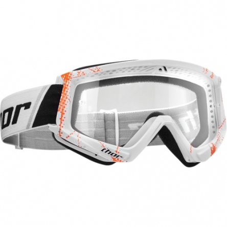 Brýle THOR COMBAT WEB WHITE/ORANGE