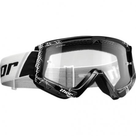 Brýle THOR COMBAT WEB BLACK/WHITE
