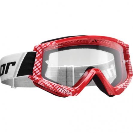Brýle THOR COMBAT CAP RED/WHITE