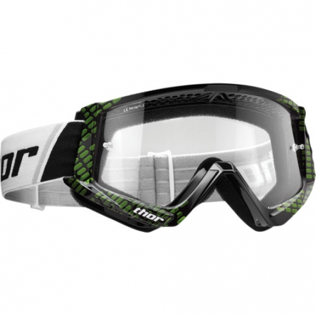 Brýle THOR COMBAT CAP BLACK/LIME