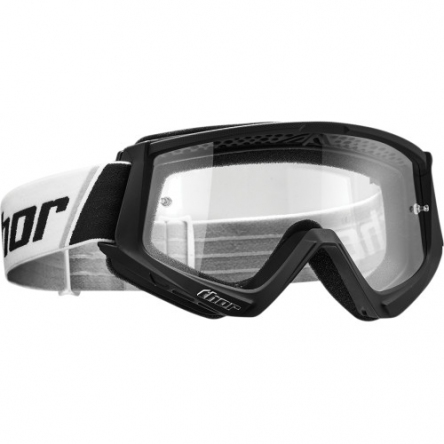 Brýle THOR COMBAT BLACK/WHITE