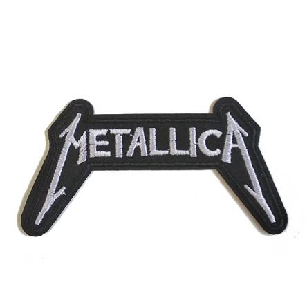 Nášivka Metallica bílá malá