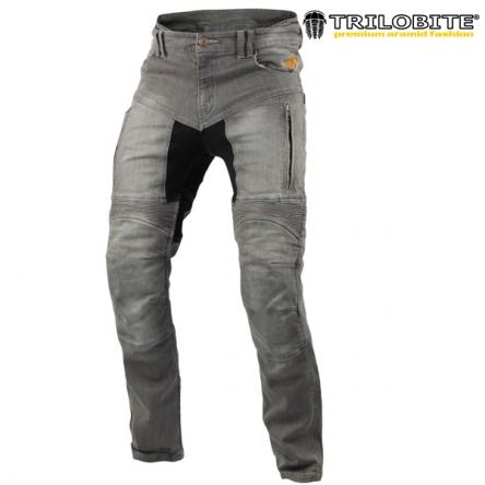 Kalhoty TRILOBITE 661 PARADO GREY SLIM
