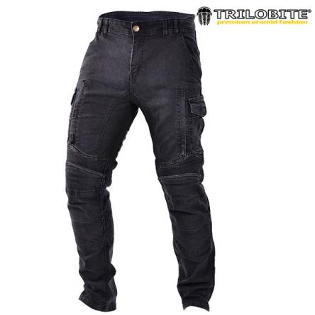 Kalhoty TRILOBITE 1664 ACID SCRAMBLER BLACK