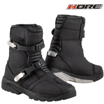 Boty KORE ADVENTURE MID BLACK