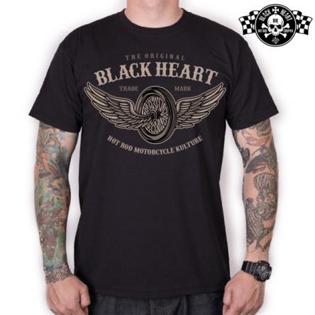 Tričko pánské BLACK HEART Wings