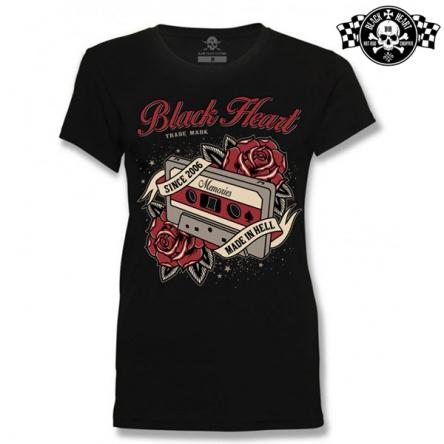 Tričko dámské BLACK HEART Old School