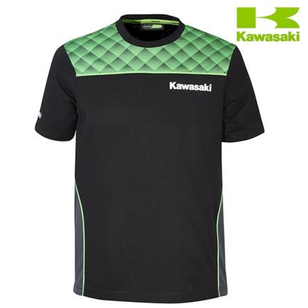 Tričko pánské KAWASAKI SPORTS II black/green