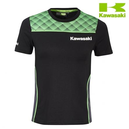 Tričko dámské KAWASAKI SPORTS II black/green