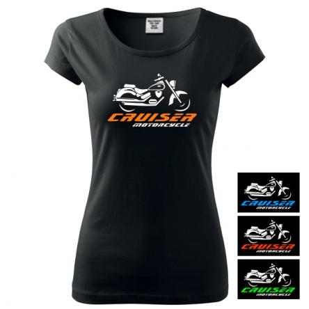 Moto Tričko CRUISER MOTORCYCLE dámské
