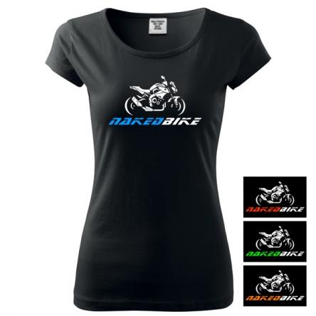 Moto Tričko NAKEDBIKE dámské