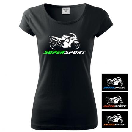 Moto Tričko SUPERSPORT dámské