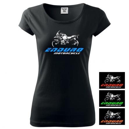 Moto Tričko ENDURO MOTORCYCLE dámské