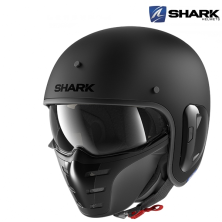 Helma SHARK S-DRAK 2 BLANK MAT KMA